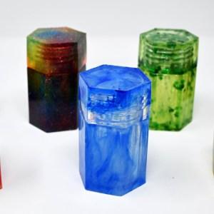 Flora's Creations: Resin Stash Jars