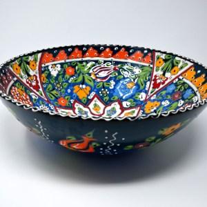 Turkish Ceramic Serving Bowl