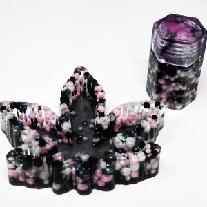 Floras Creations: Ashtray and Stash Jar Set