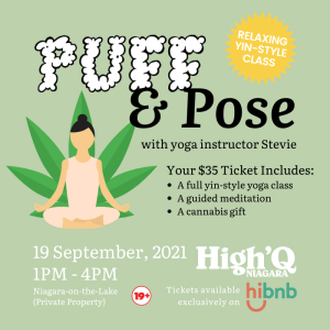 Puff & Pose - cannabis friendly events