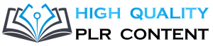 high quality plr content logo