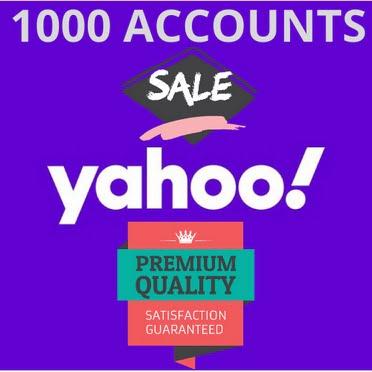 1000 Fresh Yahoo Accounts