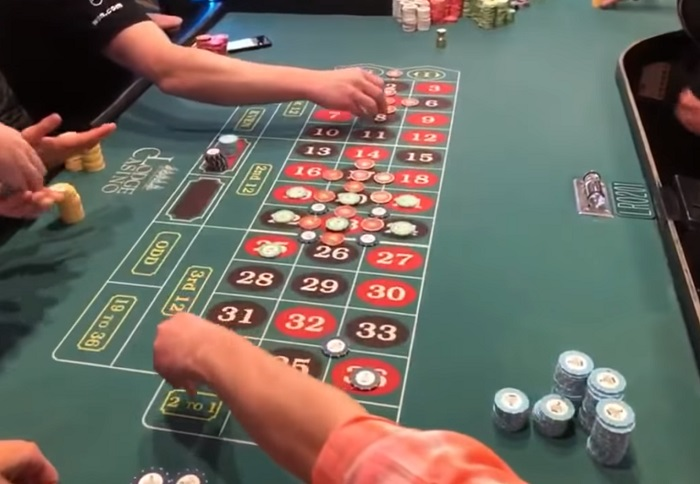 table games jackpot