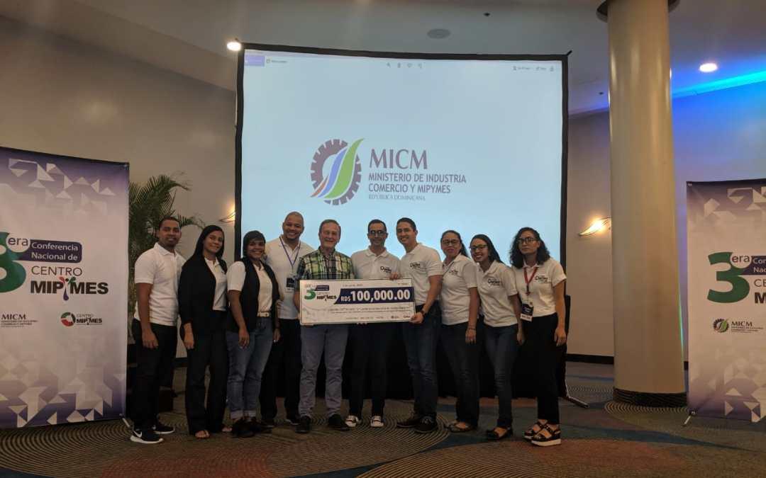 Centro Mipymes del INTEC galardonado por el MICM como el mejor desempeño durante 2018