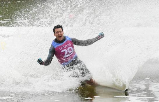 Robert Pigozzi gana medalla de oro en esquí en los Juegos Panamericanos