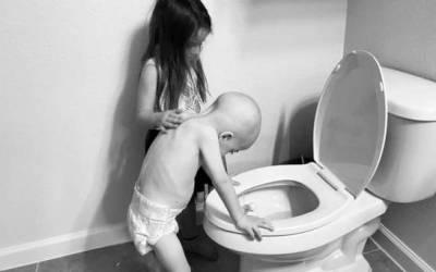 La historia detrás de la conmovedora fotografía que se hizo viral