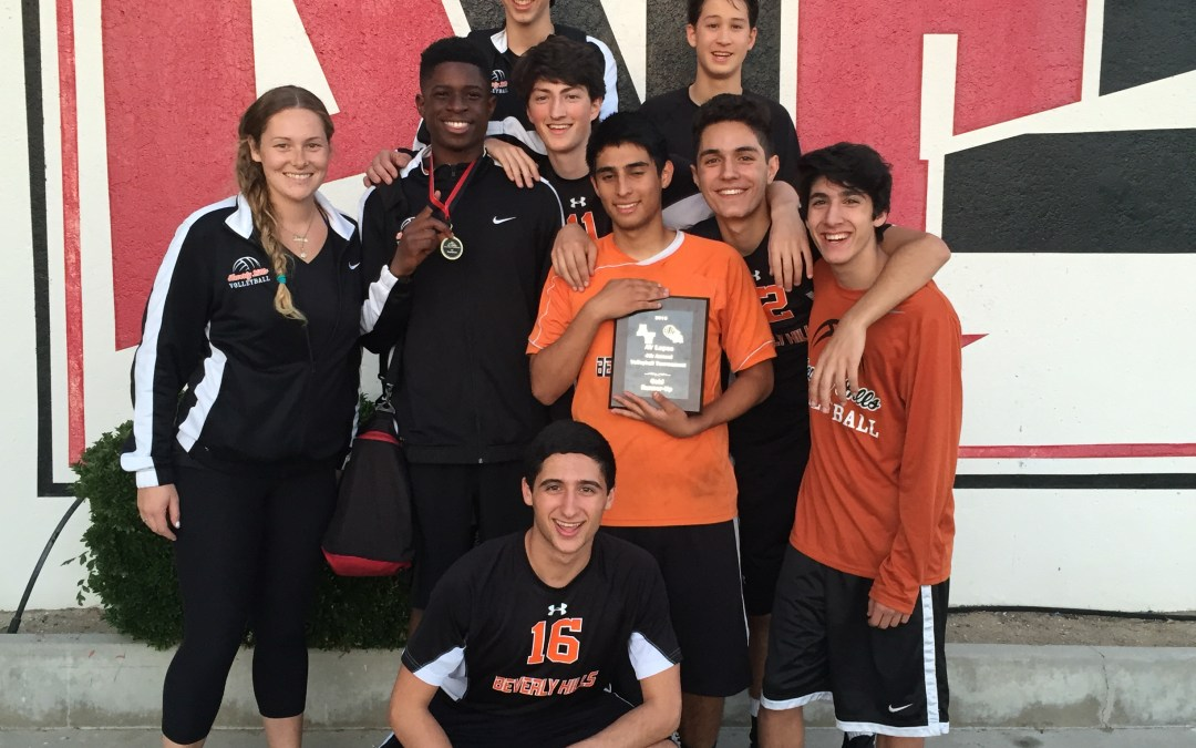 Boy's varsity volleyball place second in Lancaster