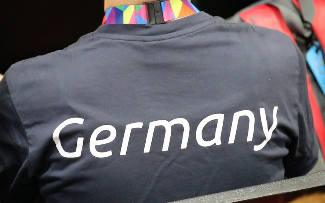 """CSULA hosts a """"Good Luck"""" rally for the German Team"""