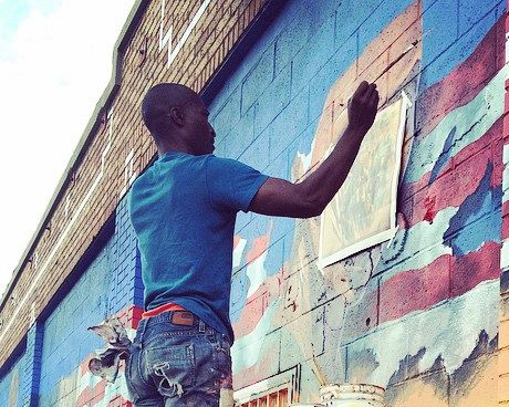 Muralist Patrick Henry Johnson: beautifying the streets of Los Angeles