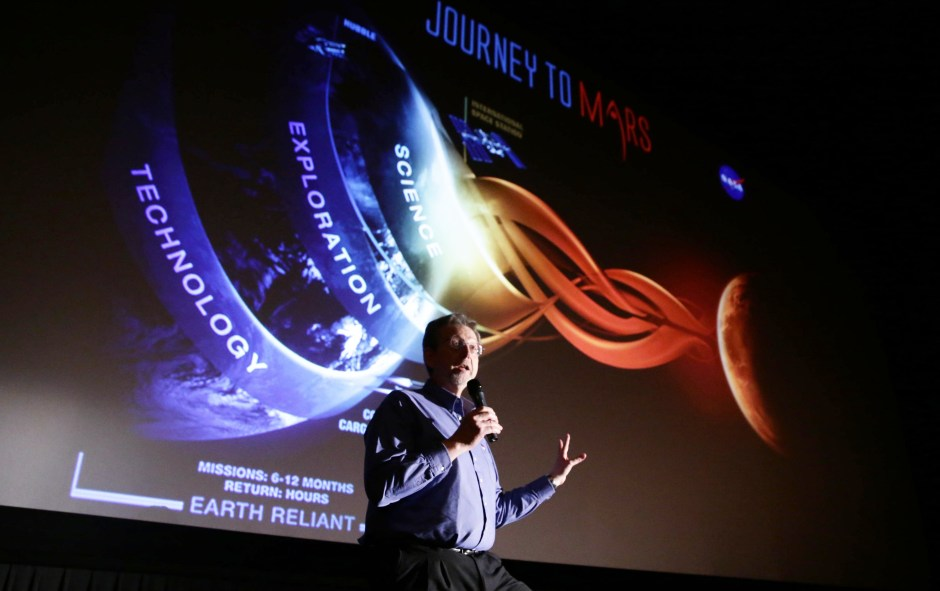 Dr. Jim Green at the Twentieth Century Fox 'The Martian' Trailer Launch Event. (Photo by Eric Charbonneau/Invision for Twentieth Century Fox/AP Images)