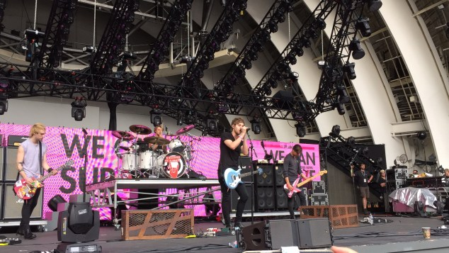 5 Seconds of Summer perform during the VIP pre-show presented by Citi