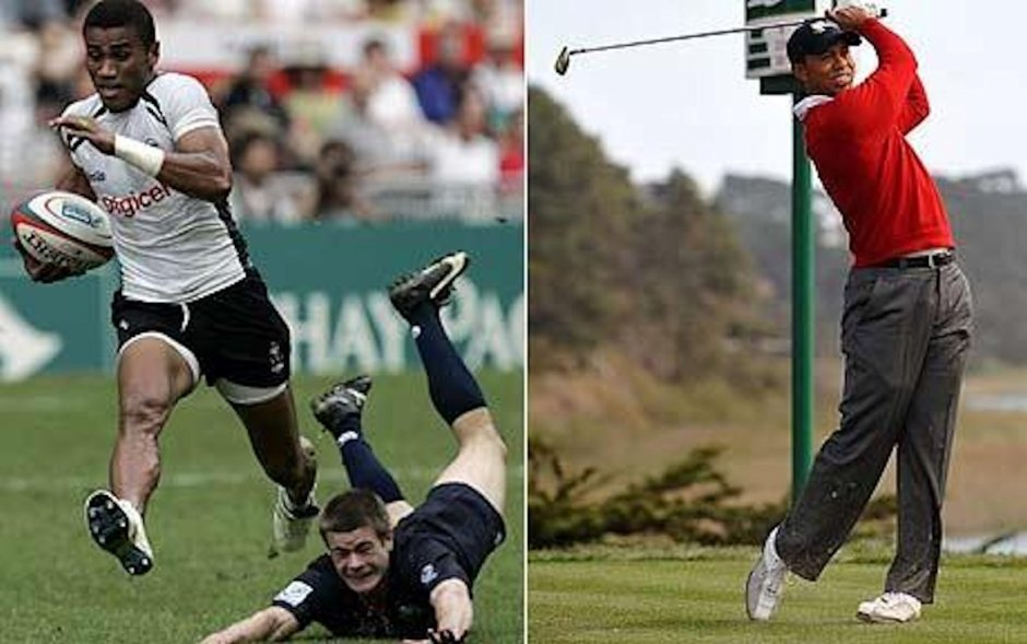 Rugby and Golf will reappear in the Games since being abandoned for nearly 100 years. Photo courtesy of telegraph.co.uk