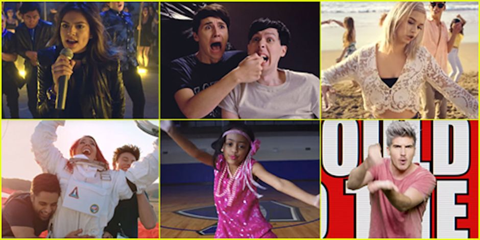 Memorable scenes from this year's YouTube rewind. Photo courtesy of justiaredjr.com