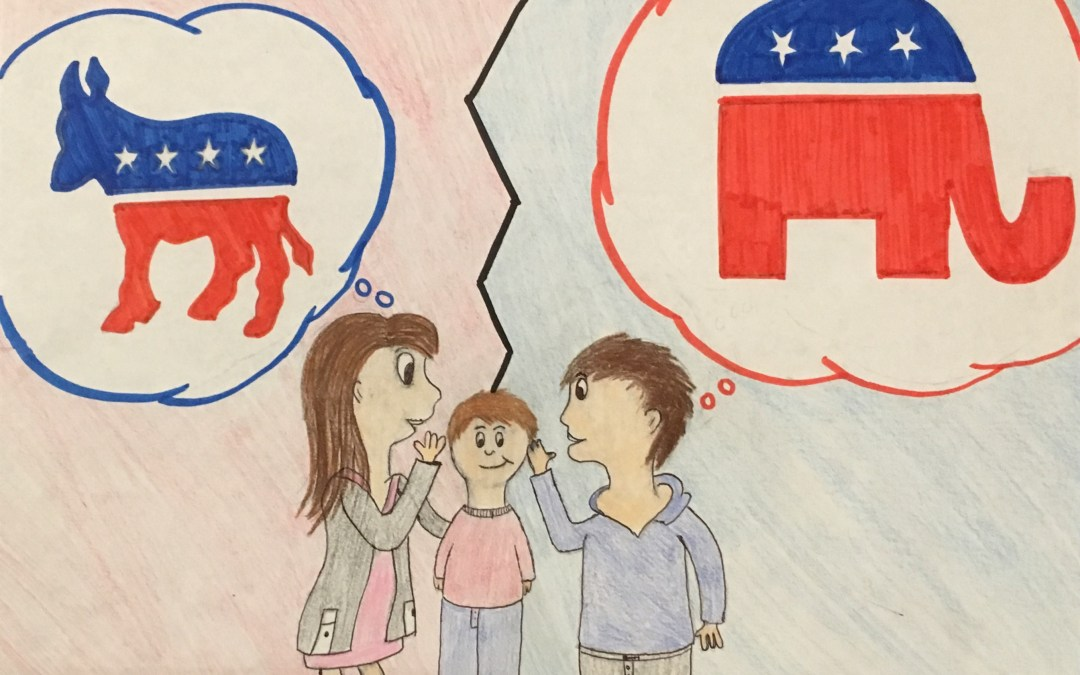 Opinion: Parents are raising political mini-me's, not independent voters