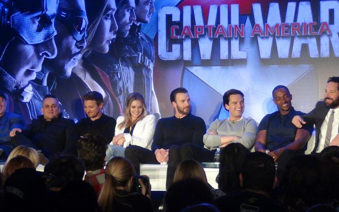 Six best moments of #TeamCap Civil War press conference: Smack-talking Team Iron Man, Stucky, and more