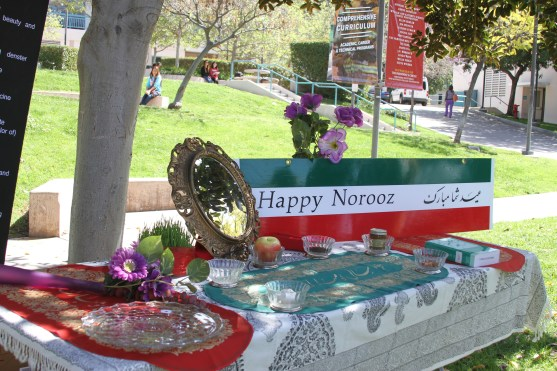 Nowruz was celebrated at Glendale Community College. Attendees were able to learn about the haft seen.