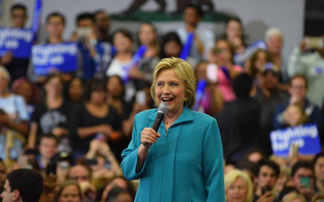 Hillary Clinton rally attracts supporters and protesters alike