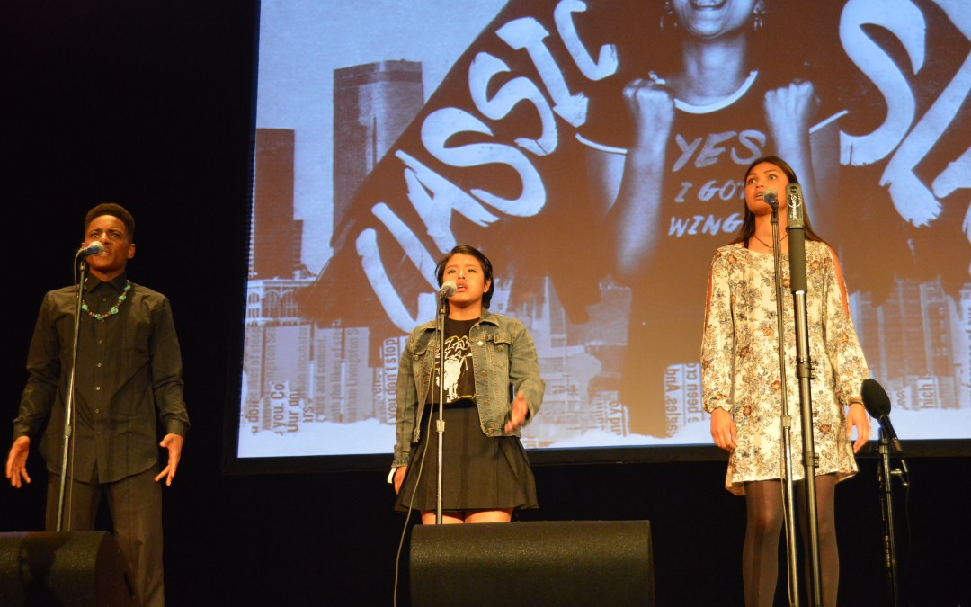 Classic Slam gives a voice to teenage poets