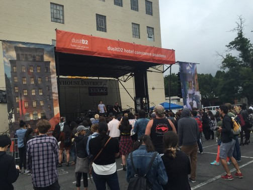 Phantoms at Playhouse District Stage