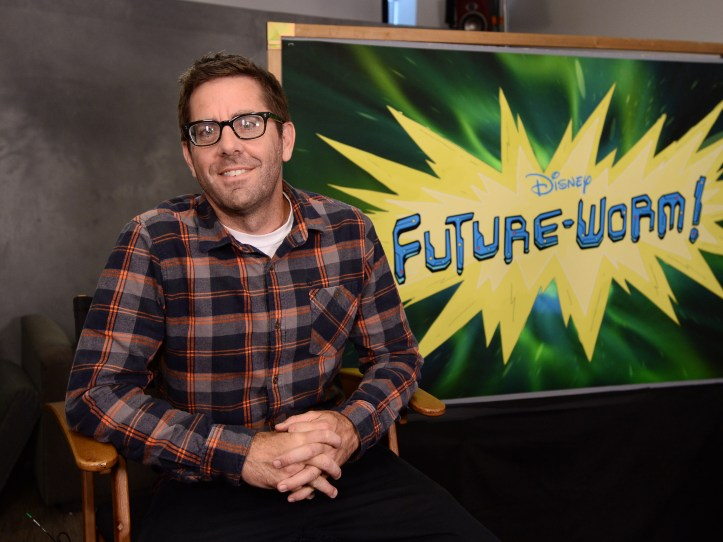 FUTURE WORM - (Disney XD/Matt Petit) RYAN QUINCY (CREATOR/EXECUTIVE PRODUCER)