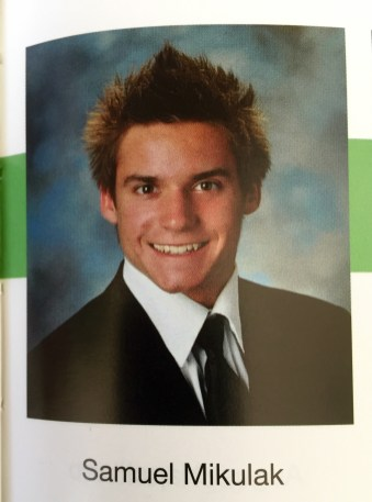 Sam Mikulak was a student at Corona del Mar High School. This is his 2010 senior yearbook photo.