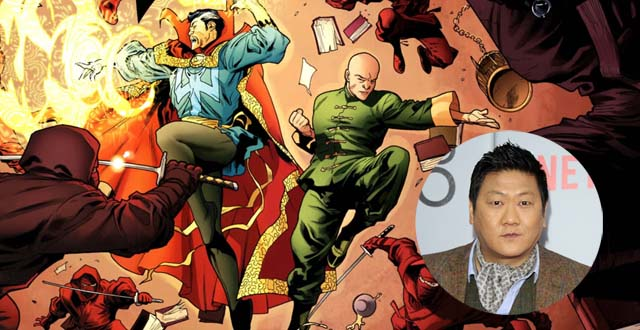 Doctor Strange and Wong from the original comics.