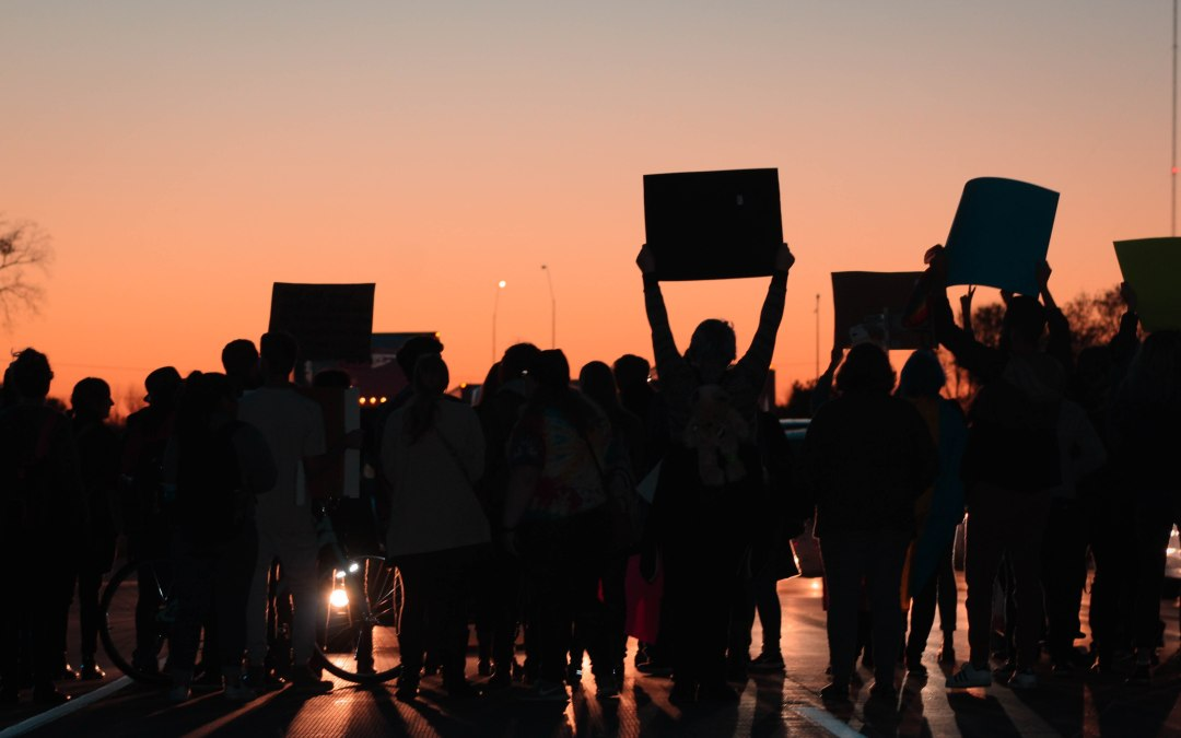 Anti-hate protesters take to Iowa City streets