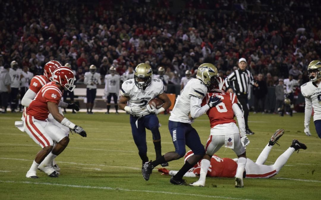 St. John Bosco victorious in CIF-SS D-1 championship against Mater Dei