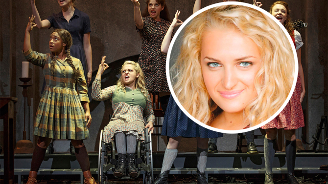 Interview with Broadway star Ali Stroker: Making history in a wheelchair