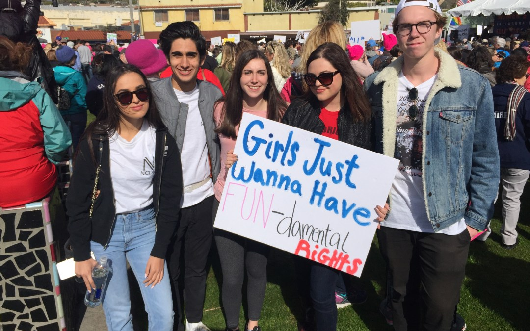 Students participate in Women's March to promote feminism, encourage political tolerance on campus