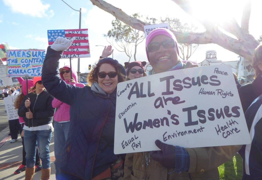 The Women's March on Washington Movement advocates for equality for all groups.