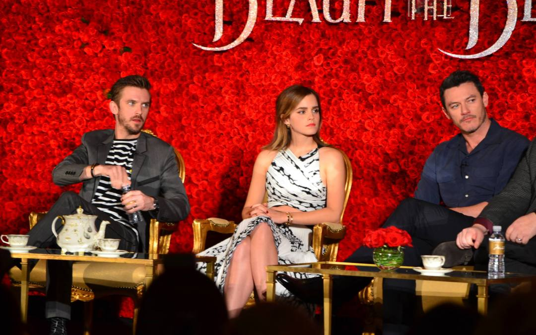 My question for Emma Watson at the 'Beauty and the Beast' Press Junket