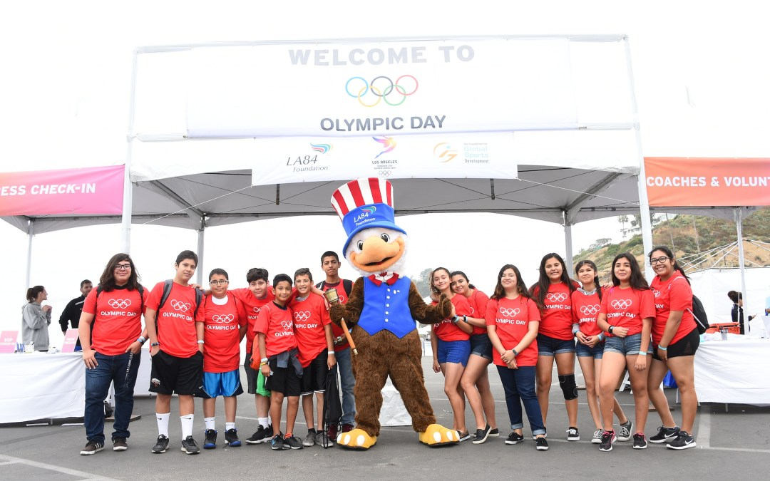 LA84 and LA2024 provide thrilling Olympic Day experience