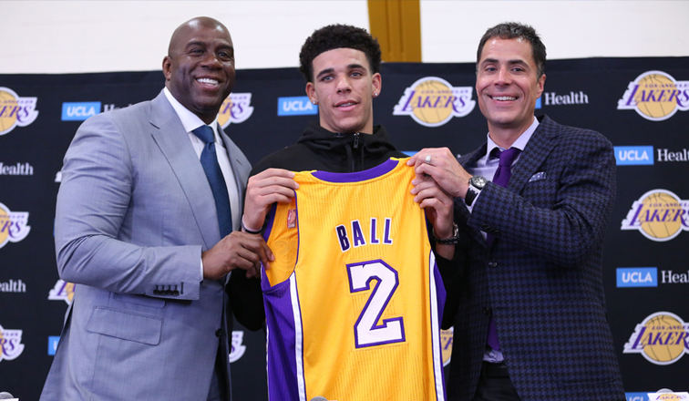 Column: Lonzo Ball is the future of the Lakers