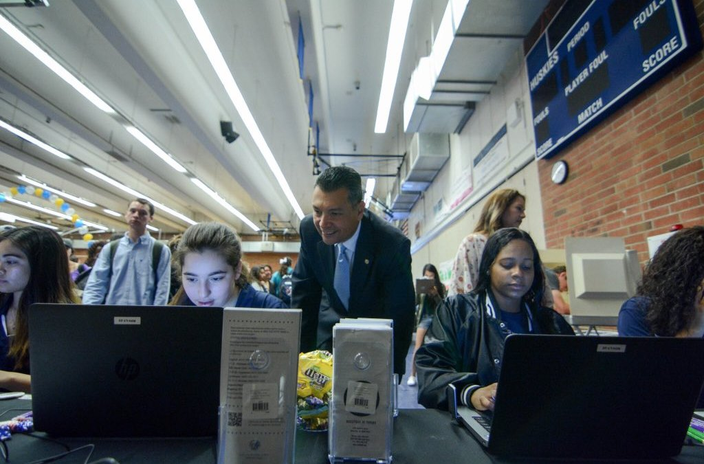 Secretary of State Alex Padilla involves school districts in pre-registration initiative with online toolkit