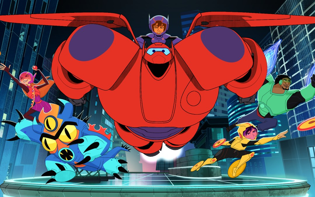 'Big Hero 6 The Series' exclusive video and Q&A with the executive producers