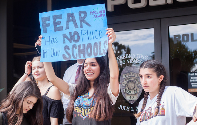 Photo Gallery: student walkout