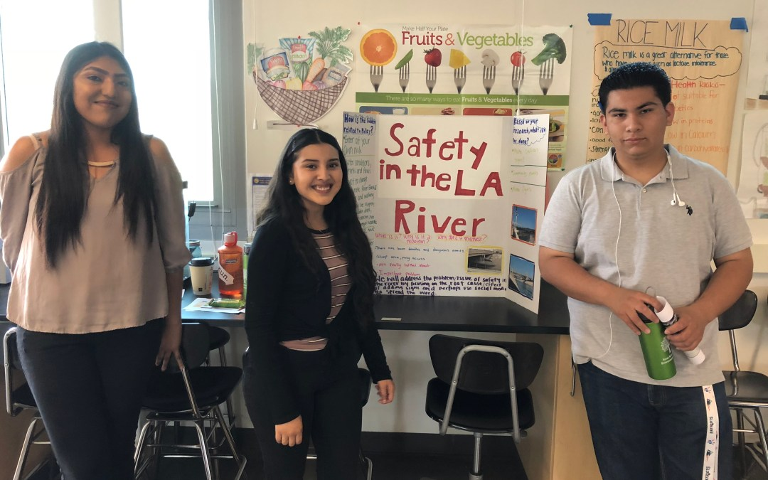 Glassell Park — Los Angeles River High School presents a Community Event