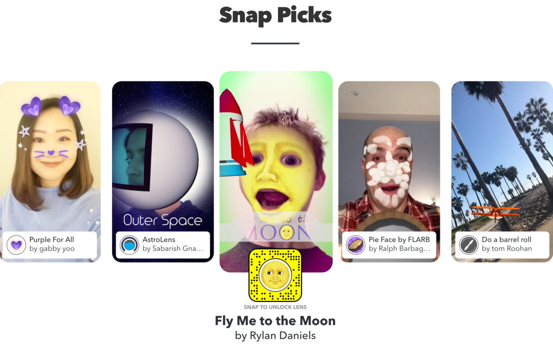Column: How I created 'Fly Me To The Moon' with Snapchat AR lens