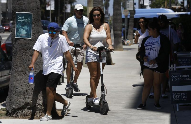 Opinion: E-scooters pose a threat