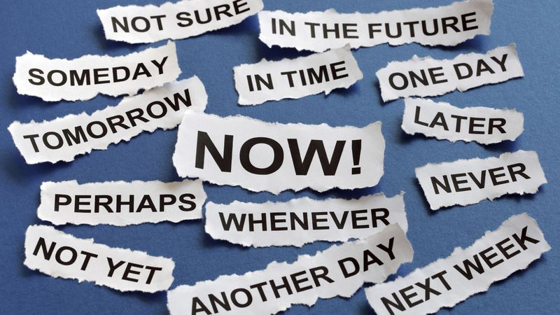 Opinion: The dangers of procrastination