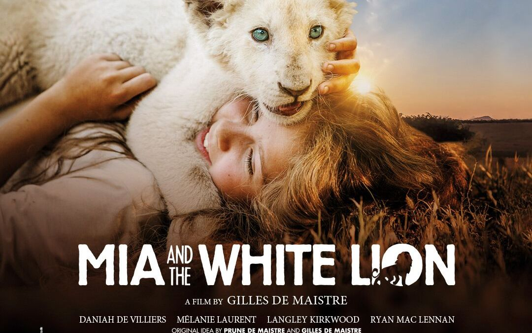 Daniah De Villiers, a breakout teenage actress in 'Mia and the White Lion'