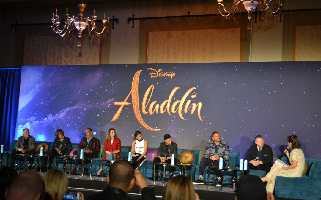 The cast of the live-action 'Aladdin' speaks about taking on iconic roles