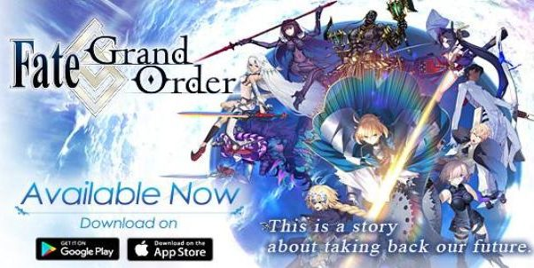 Overview of fantasy game 'Fate Grand Order'