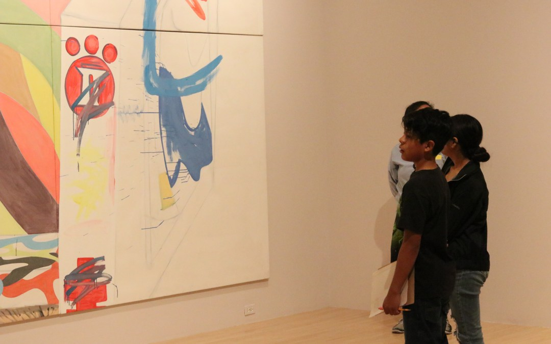 Art inspires youth poetry at MOCA
