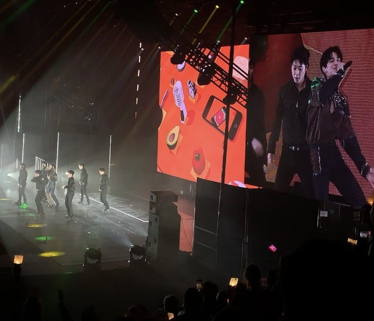 Review: SuperM lights up The Forum