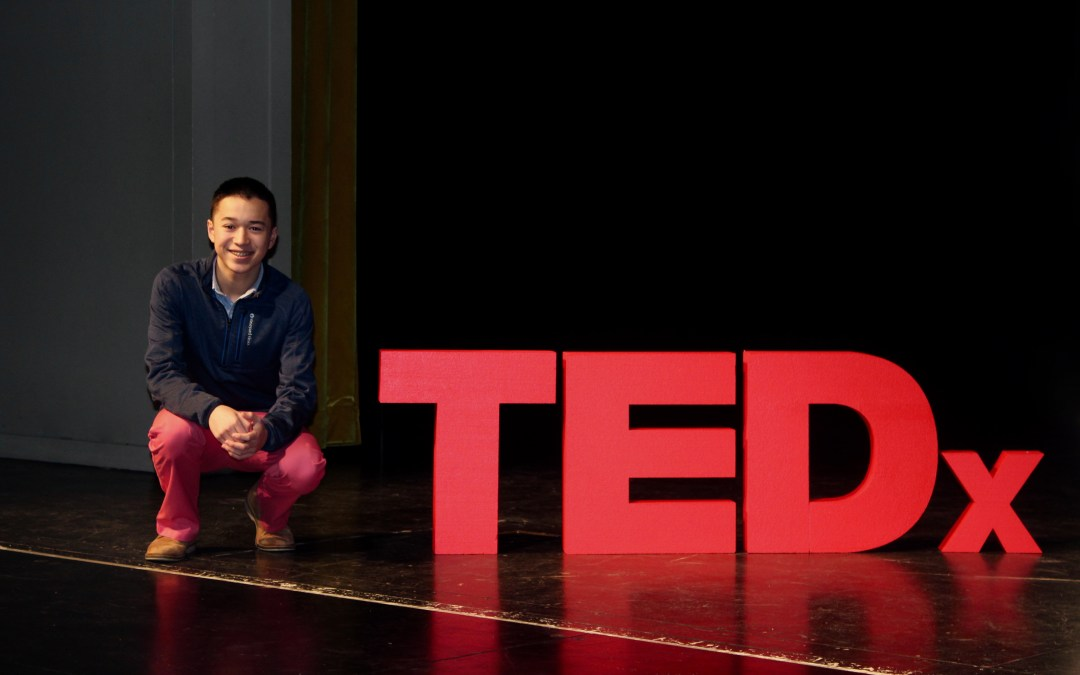 TEDxTalk: Youth's power and passion can change the world