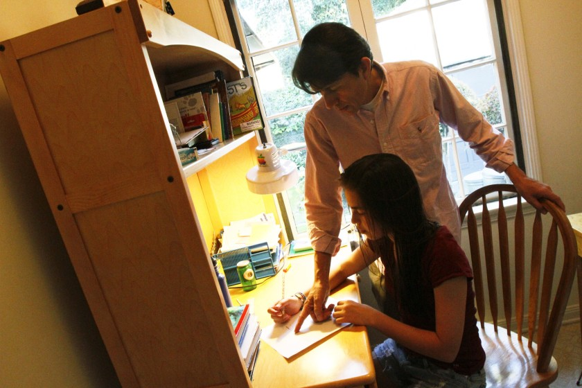 Opinion: Too much homework affects student's health