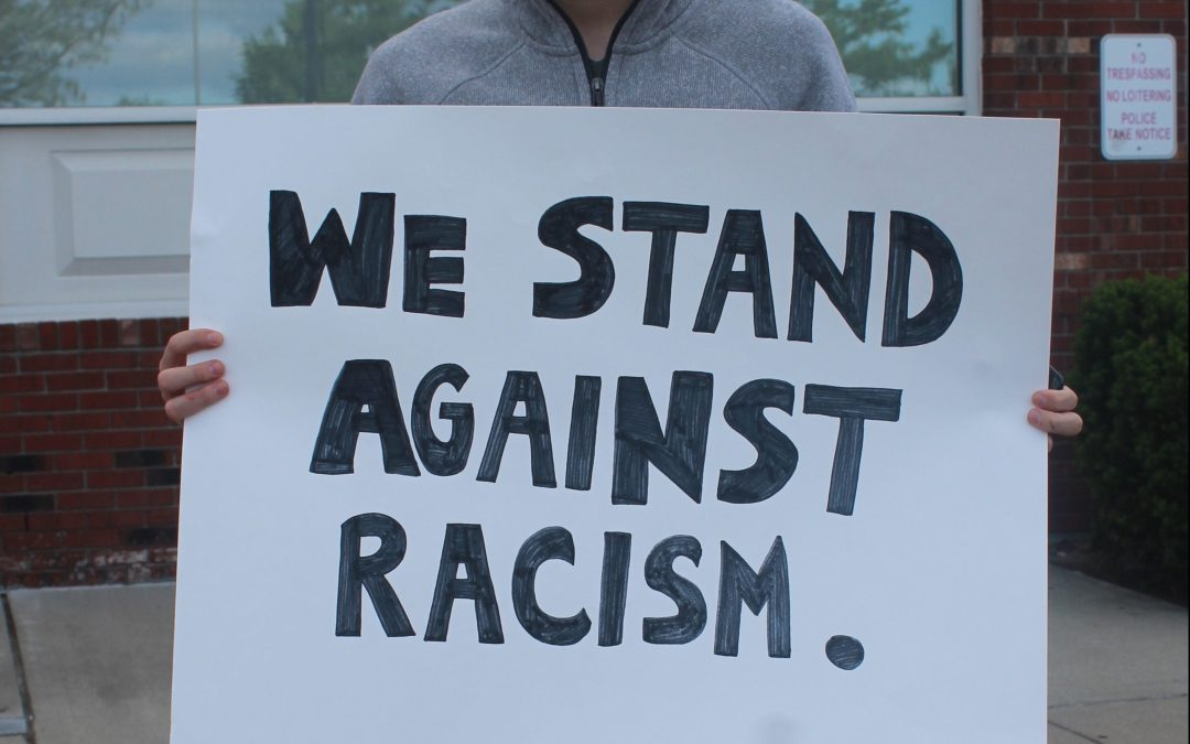 Protesters Unite: Standing up against racism and violence
