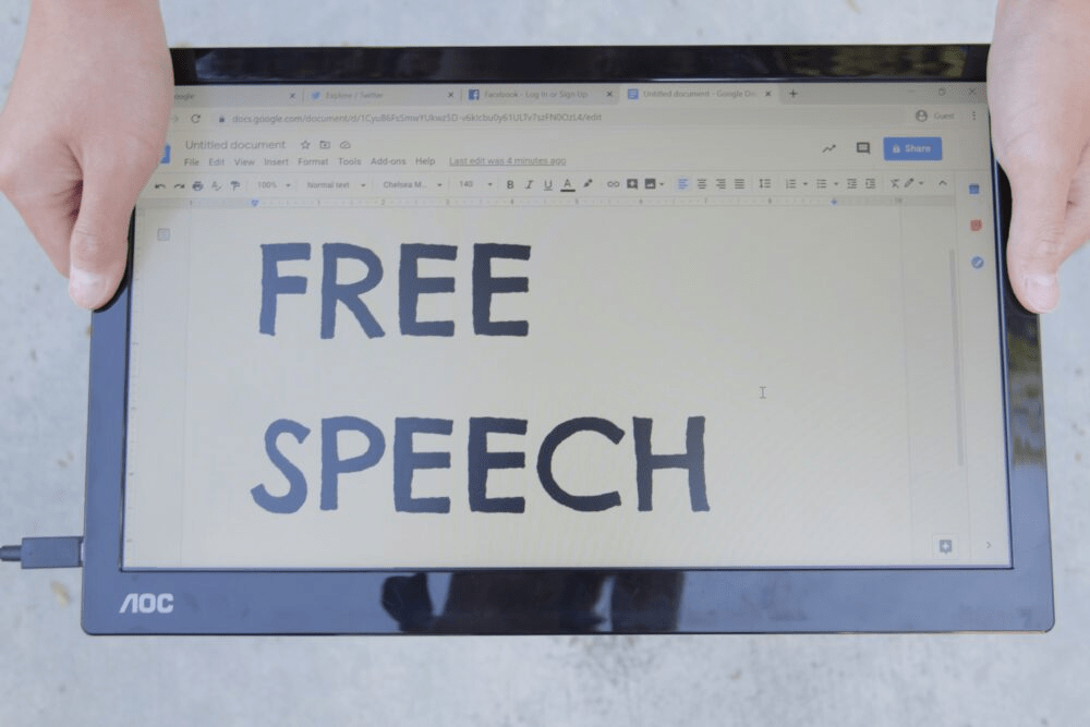 Opinion: Time to stop big tech's censorship
